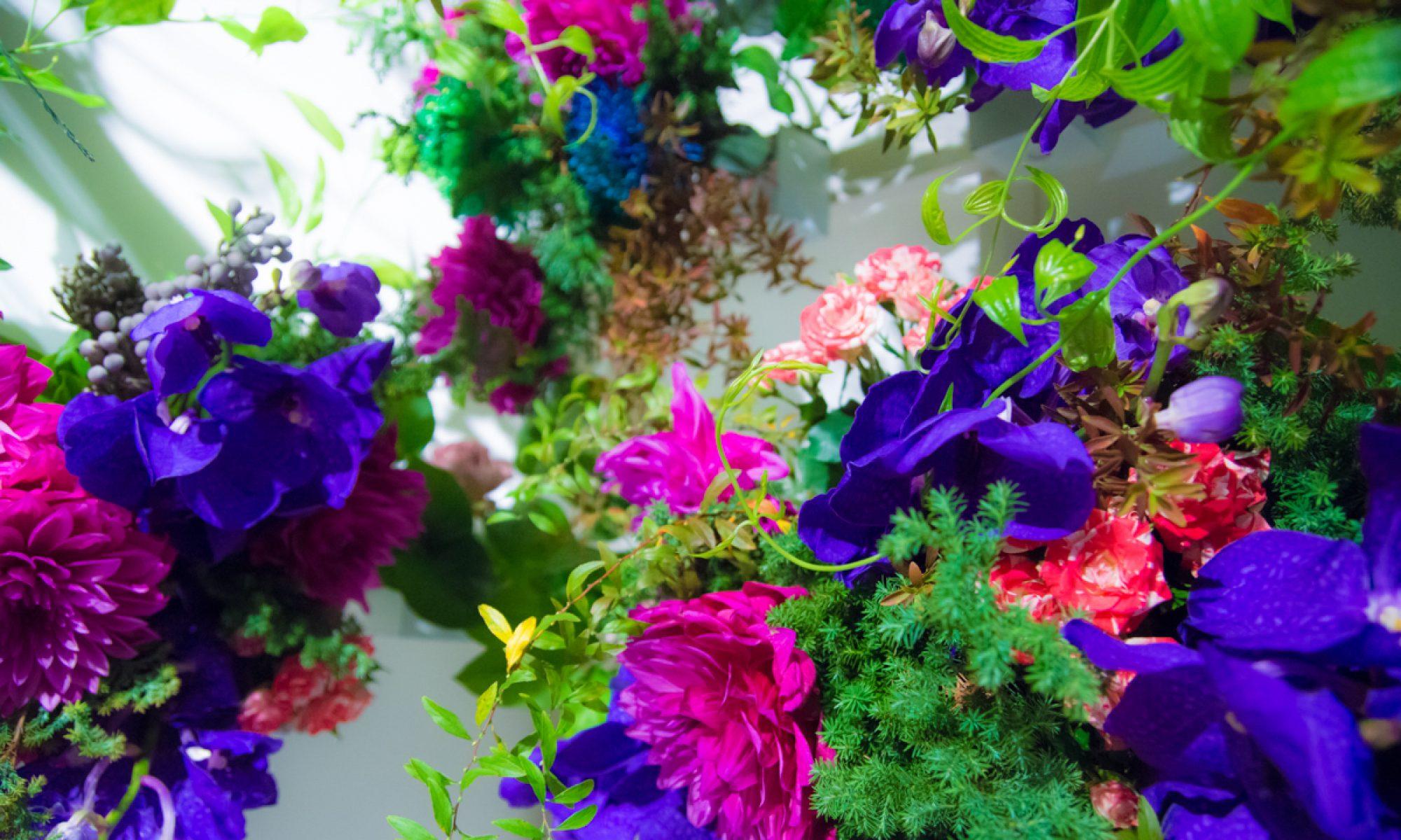 F.Insta|花と空間のアート|FlowerInstallation.com